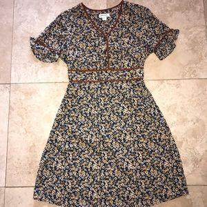 Monteau Floral Print Dress